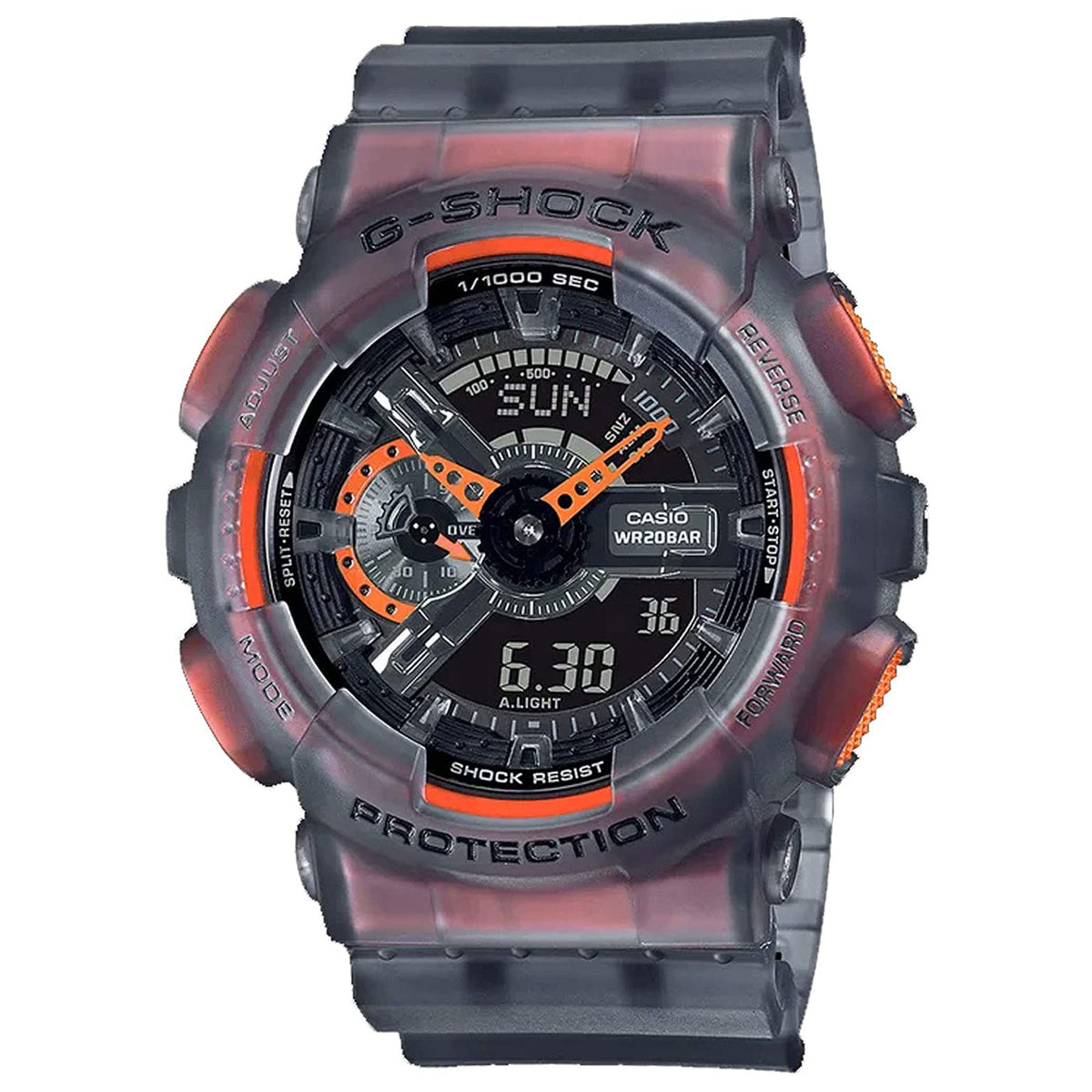 G-Shock: GA110LS-1A Analog Digital Watch