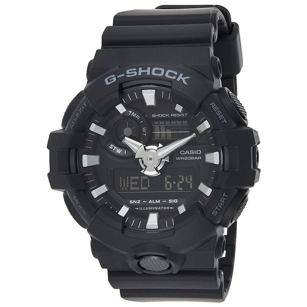 G-Shock: GA700-1BCR Watch - Black Resin