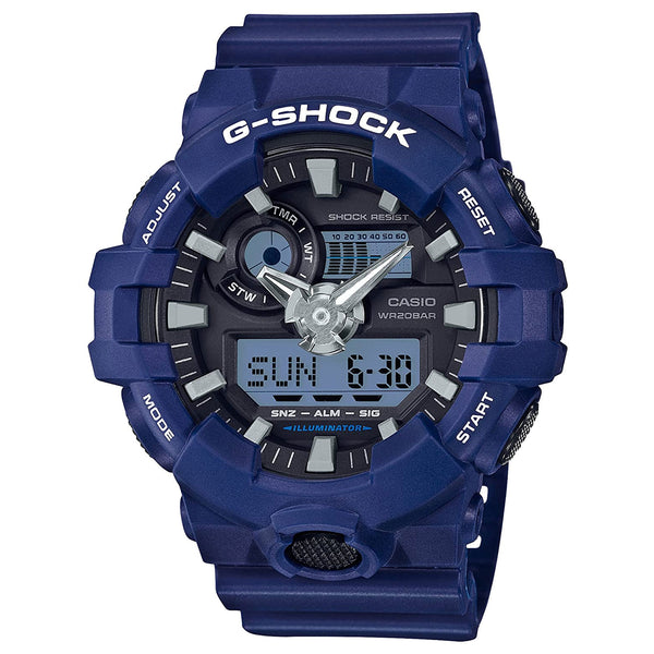 G-Shock: GA700-2ACR Watch - Blue Resin