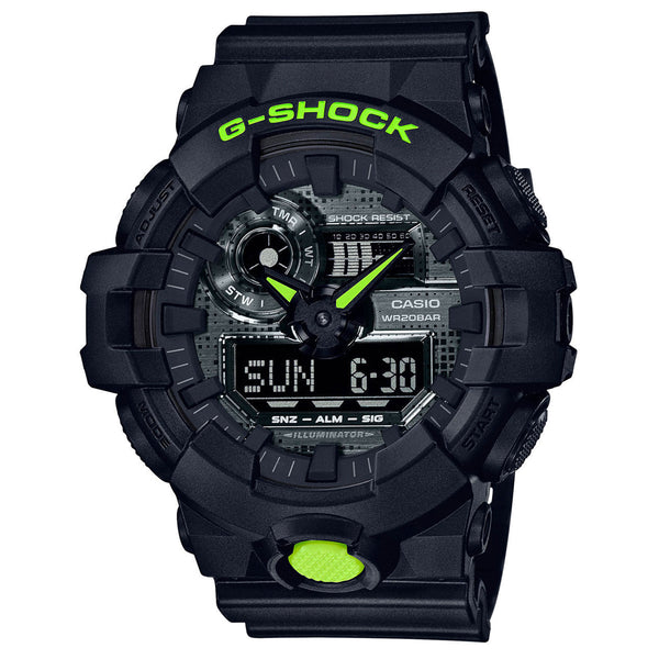 G-Shock: GA700DC-1A Watch - Black