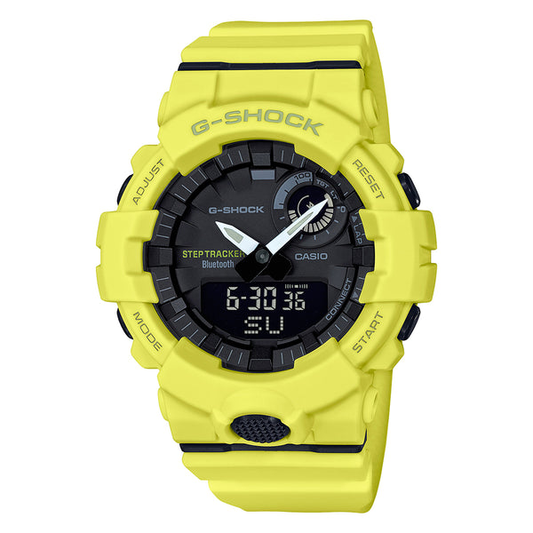 G-Shock: GBA800-9A Watch - Yellow