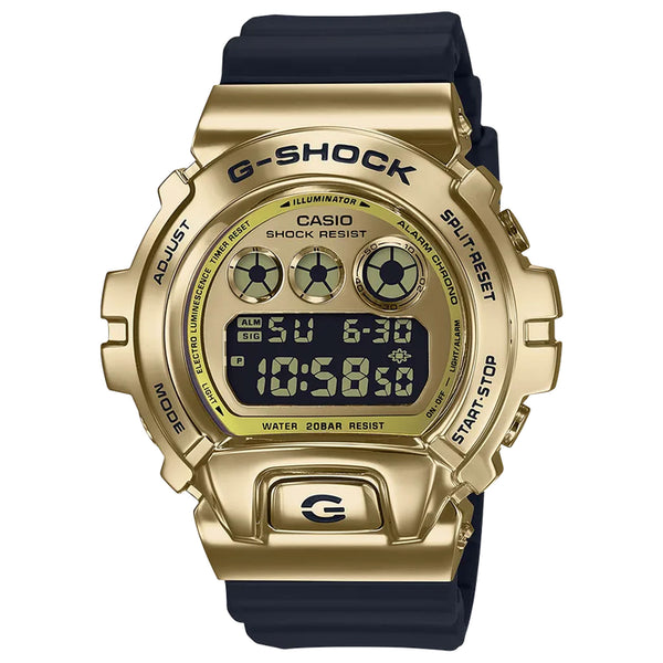 G-Shock: GM6900G-9 Watch - Gold / Black
