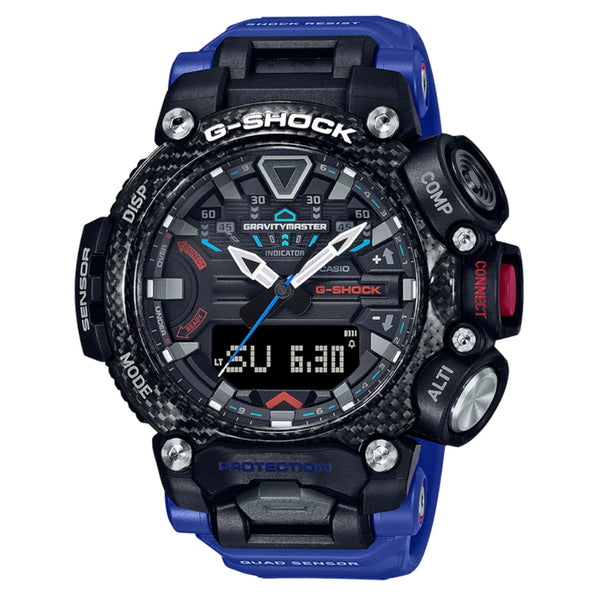 G-Shock: Gravity Master Watch (GRB200-1A2) - Blue