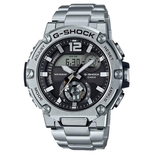 G-Shock: GSTB300SD-1A G-Steel Watch - Stainless