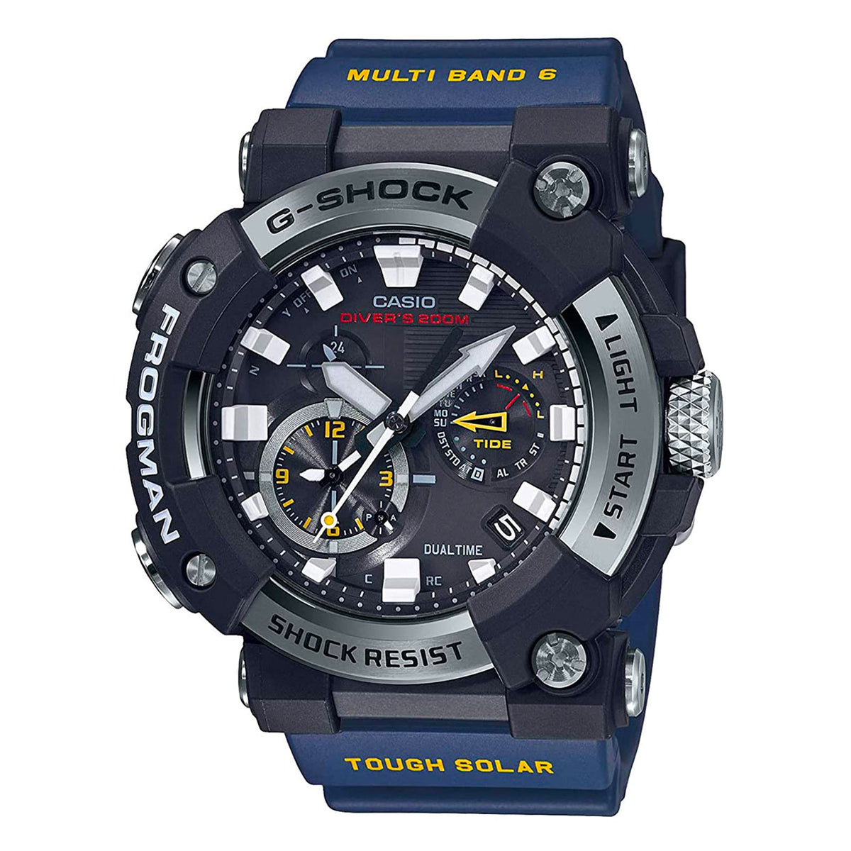 G-Shock: GWFA1000-1A2 Master Of G Watch - Blue