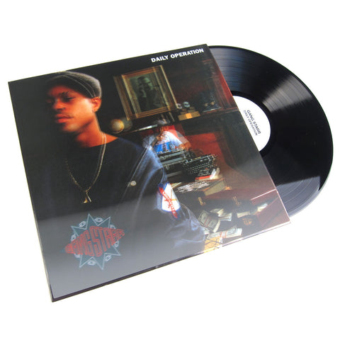 Gang Starr: Daily Operation (Lenticular 3D Cover) Vinyl LP