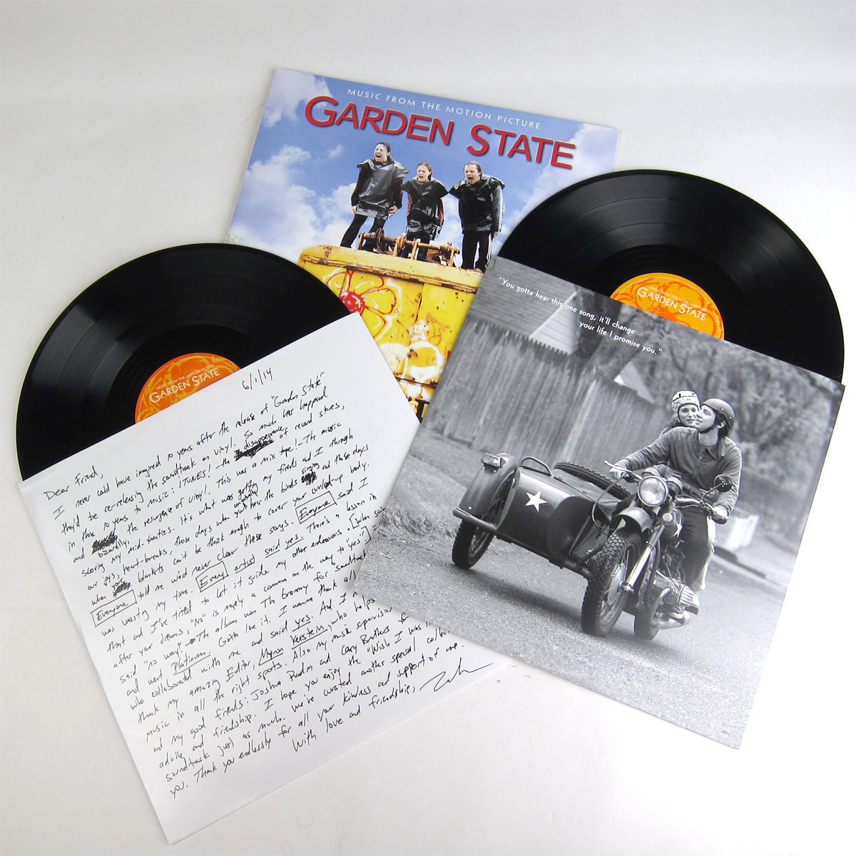 Various Artists: Garden State - Music From The Motion Picture (10th Anniversary Edition, 180g) Vinyl 2LP detail