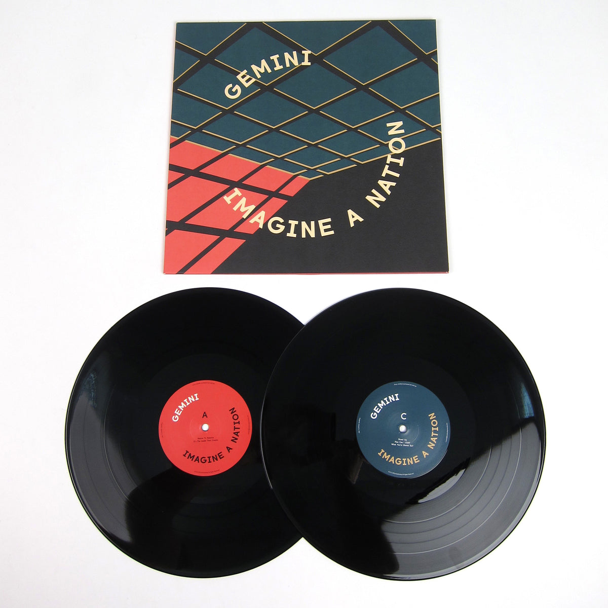 Gemini: Imagine-A-Nation (Spencer Kincy) Vinyl 2LP