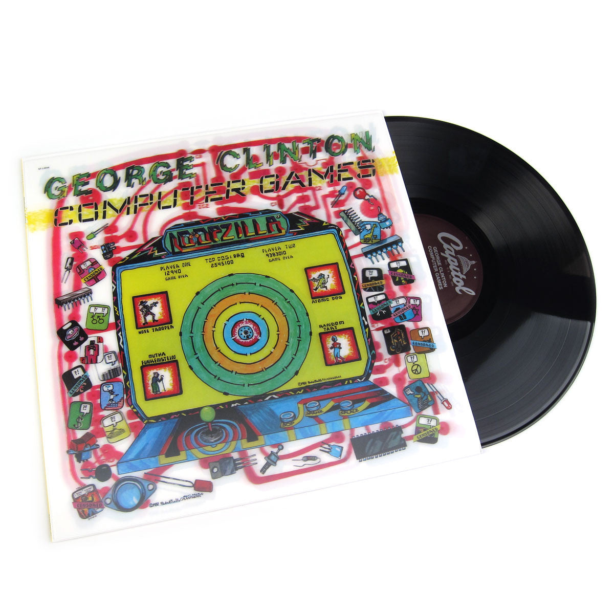 George Clinton: Computer Games Vinyl LP