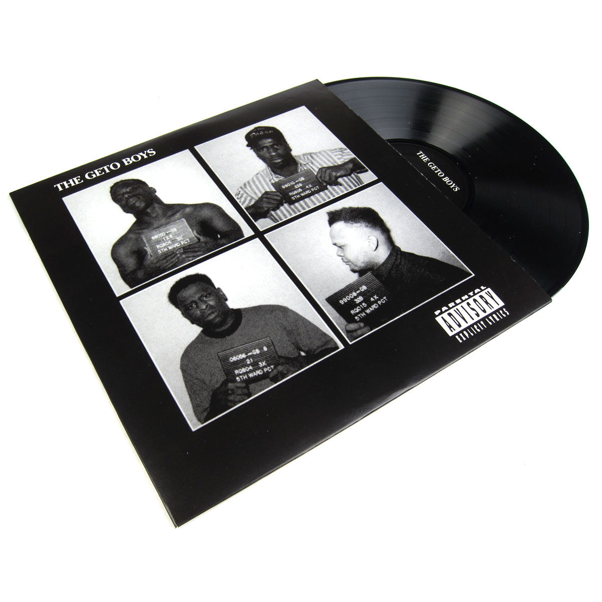 Geto Boys: The Geto Boys Vinyl LP