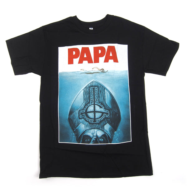 Ghost: Papa Shirt - Black