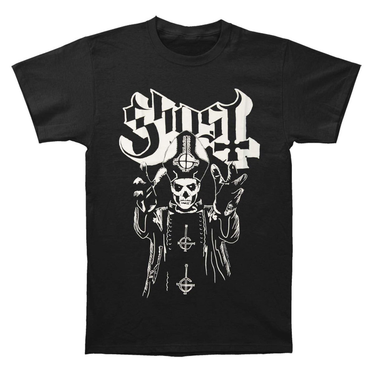 Ghost: Papa Wrath Shirt - Black