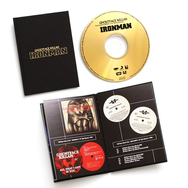 Ghostface Killah: Ironman Gold Edition CD Boxset detail
