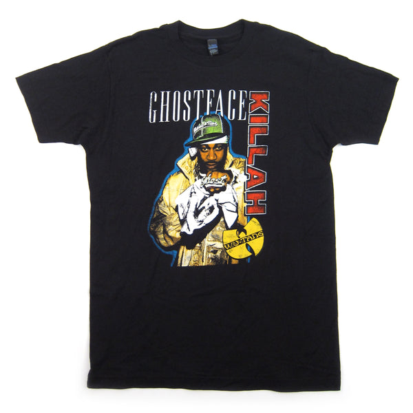 Ghostface Killah: Standing Photo Shirt - Black