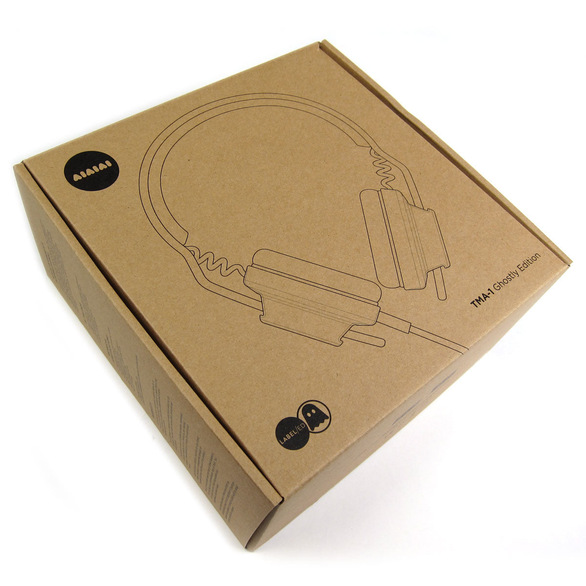 AIAIAI: TMA-1 Ghostly Edition DJ Headphones box