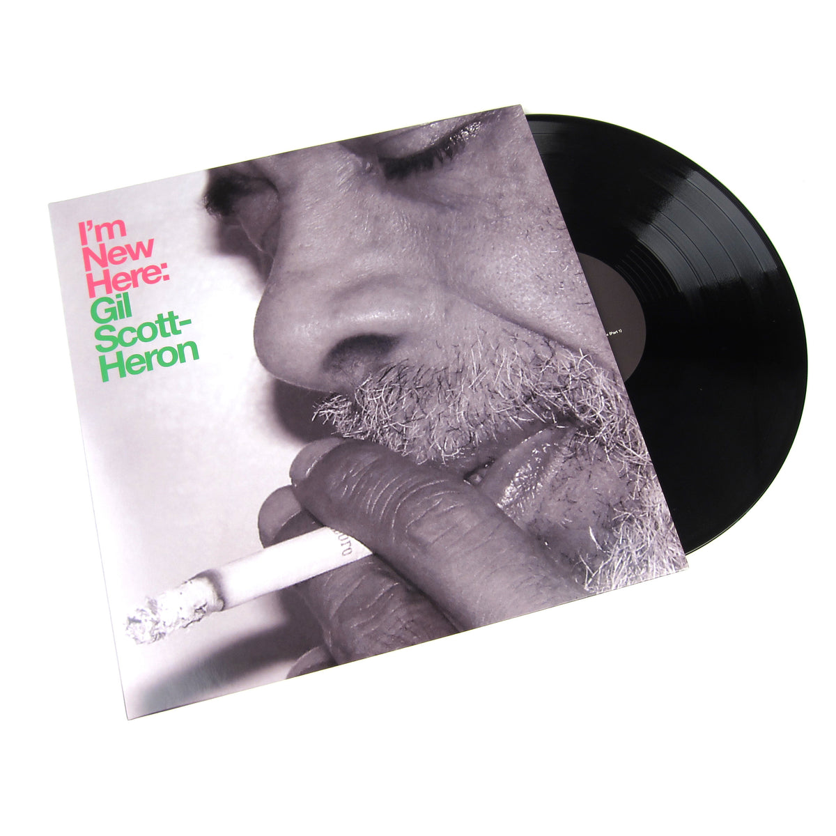 Gil Scott-Heron: I'm New Here Vinyl LP