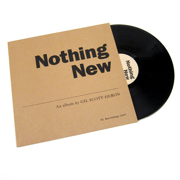 Gil Scott-Heron: Nothing New Vinyl LP