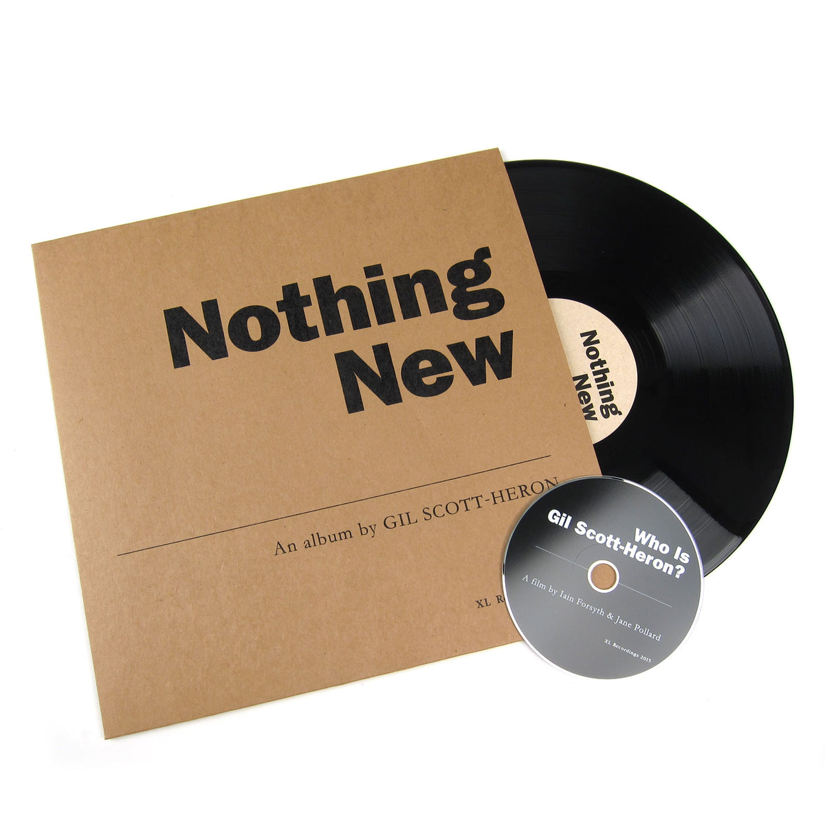 Gil Scott-Heron: Nothing New Vinyl LP+DVD