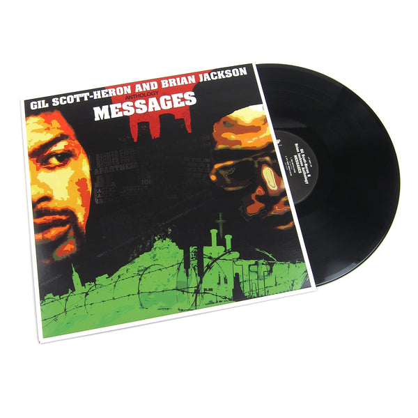Gil Scott-Heron and Brian Jackson: Anthology Messages Vinyl 2LP