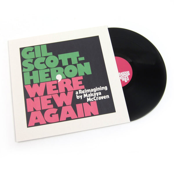 Gil Scott-Heron & Makaya McCraven: We're New Again - A Reimagining By Makaya McCraven Vinyl LP