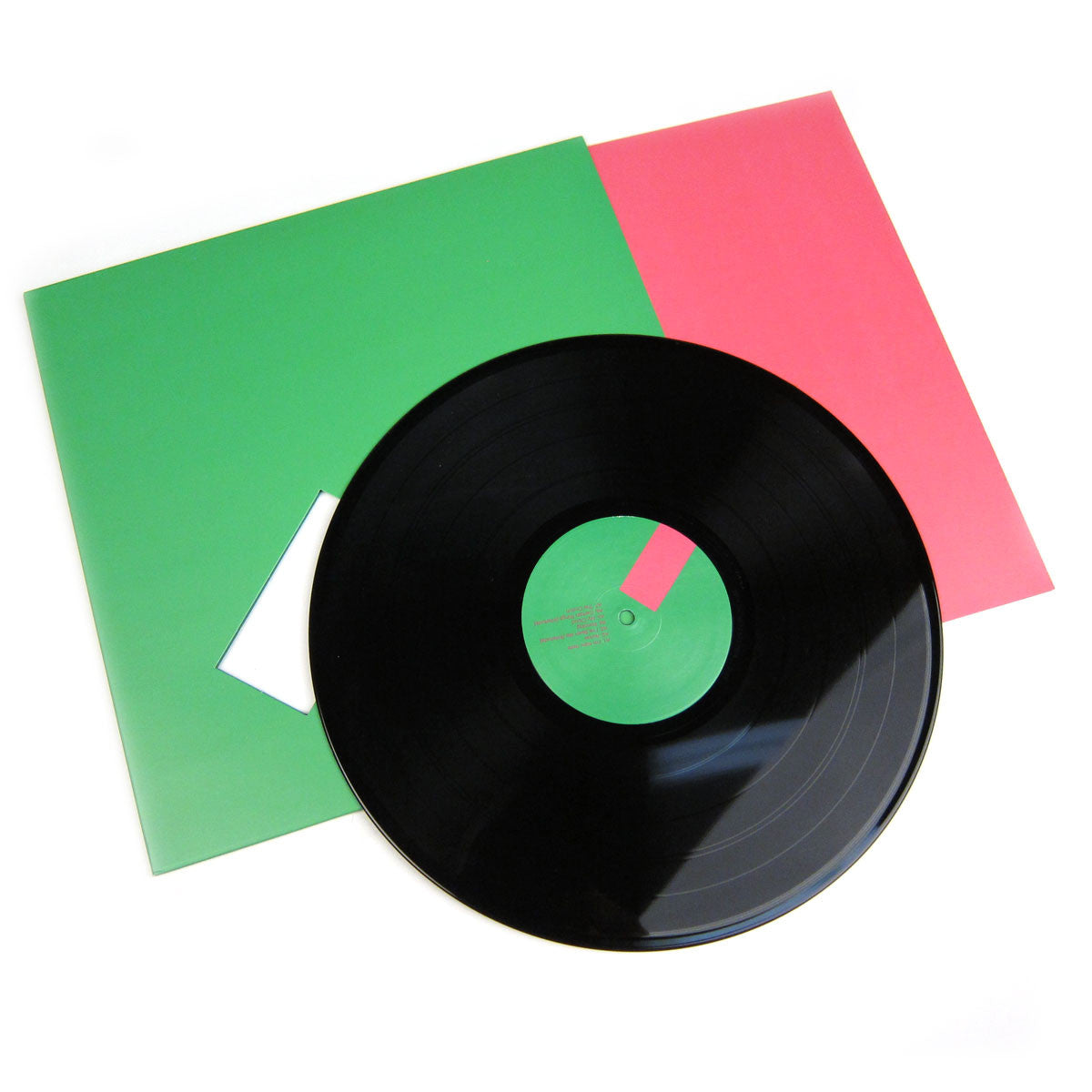 Gil Scott-Heron & Jamie XX: We're New Here Vinyl LP detail