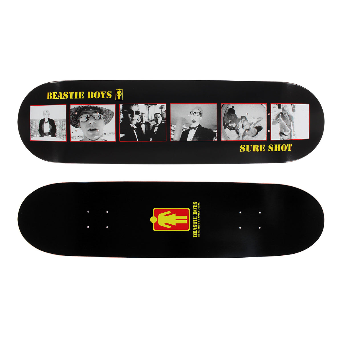 Beastie Boys: Sure Shot Skateboard Deck By Girl Skateboards / Spike Jonze - 8.25""