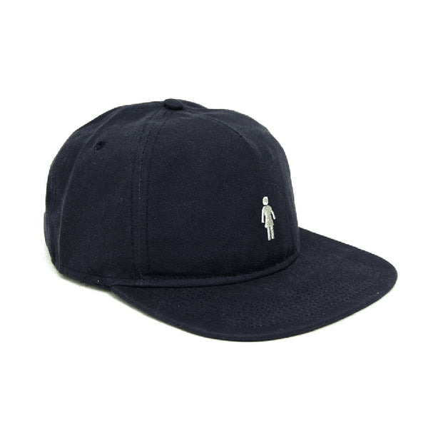 Girl: Micro OG 5 Panel Hat - Navy