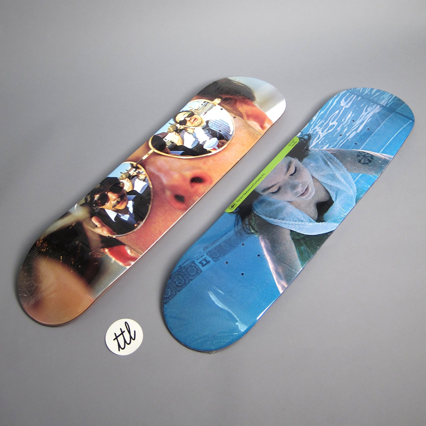 Pige Beastie Boys Spike Jonze 825 Skateboard Deck-4235