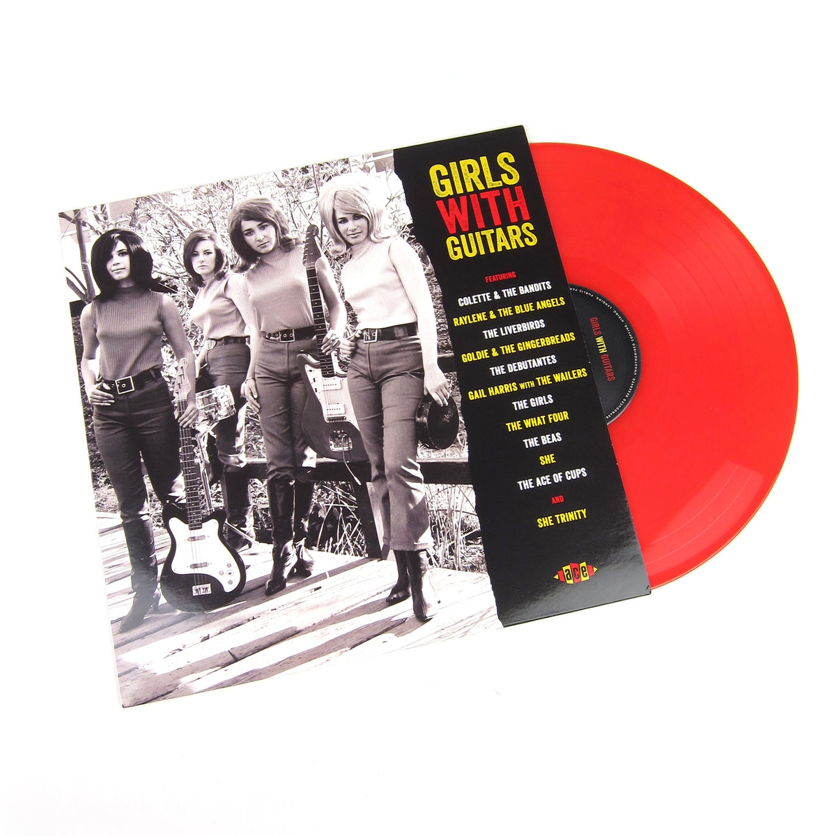 Ace Records: Girls With Guitars (Colored Vinyl) Vinyl LP