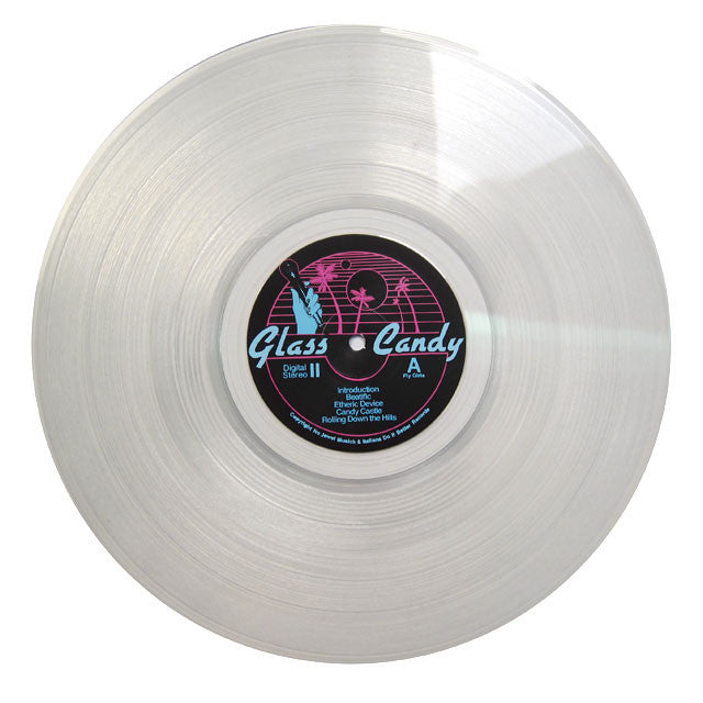 Glass Candy: Beatbox (Clear Vinyl) LP clear