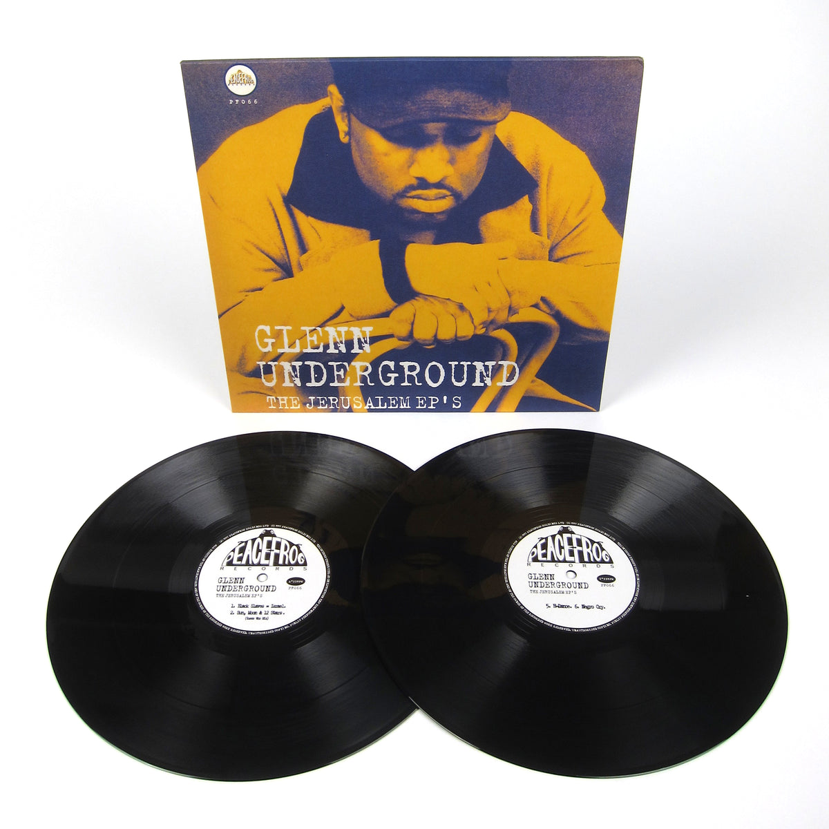 Glenn Underground: The Jerusalem EPs Vinyl 2LP