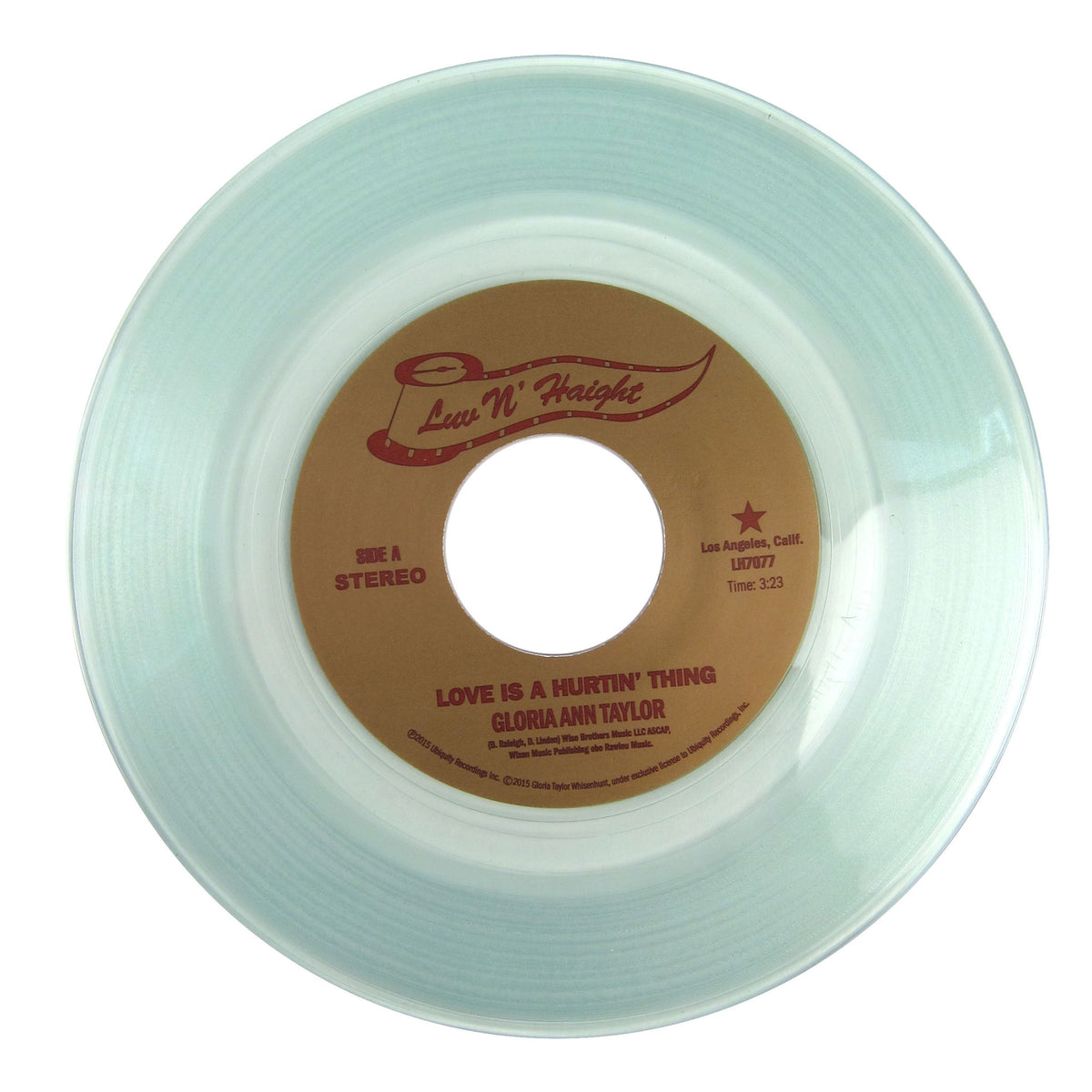 Gloria Ann Taylor: Love Is A Hurtin' Thing Vinyl 7""