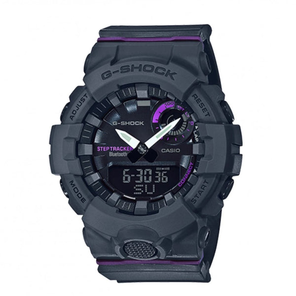 G-Shock: GMAB800-8A Womens Bluetooth Watch - Black / PurpleG-Shock: GMAB800-8A Womens Bluetooth Watch - Black / Purple
