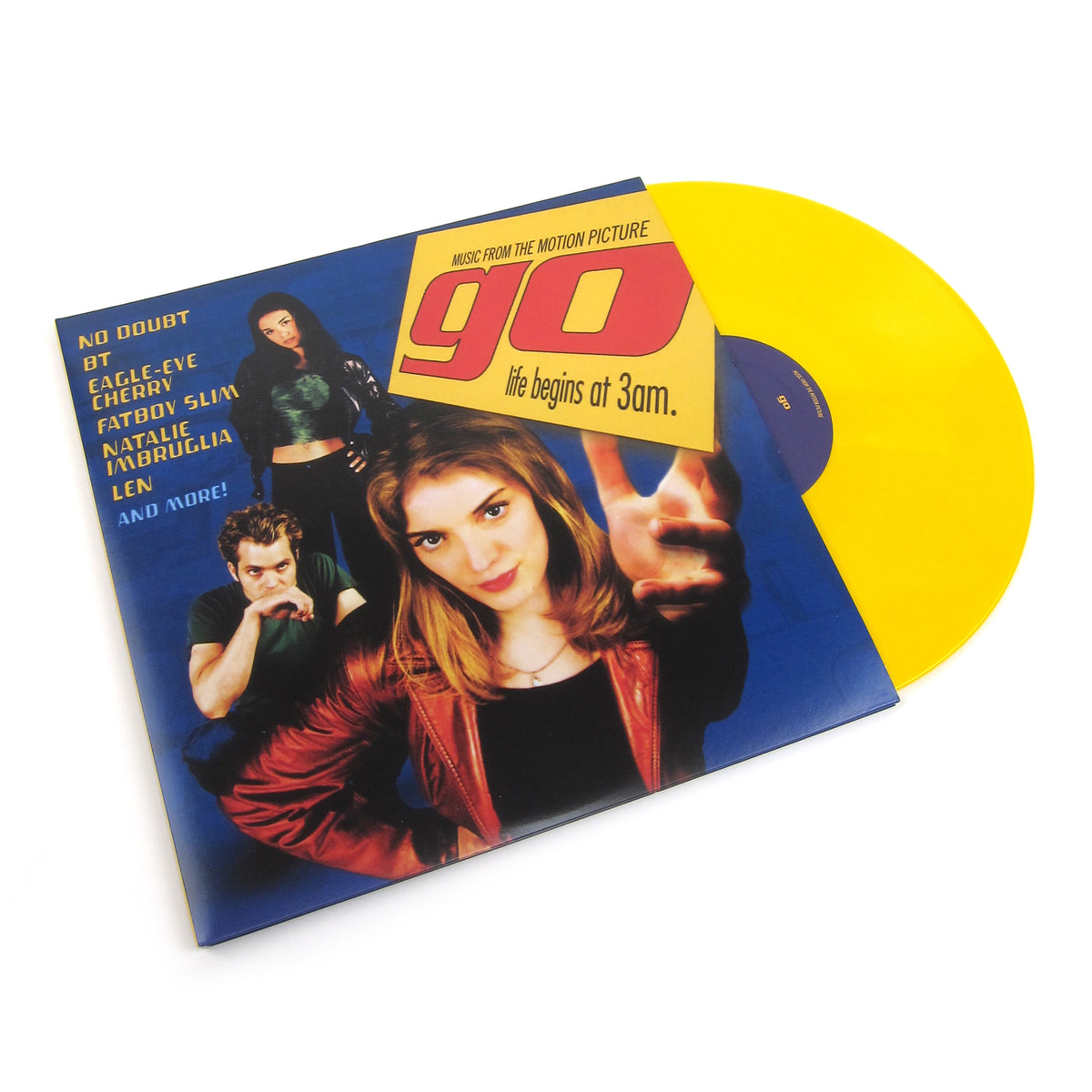 Go: Go - Music From The Motion Picture (Gopaque Yellow Colored Vinyl) Vinyl 2LP