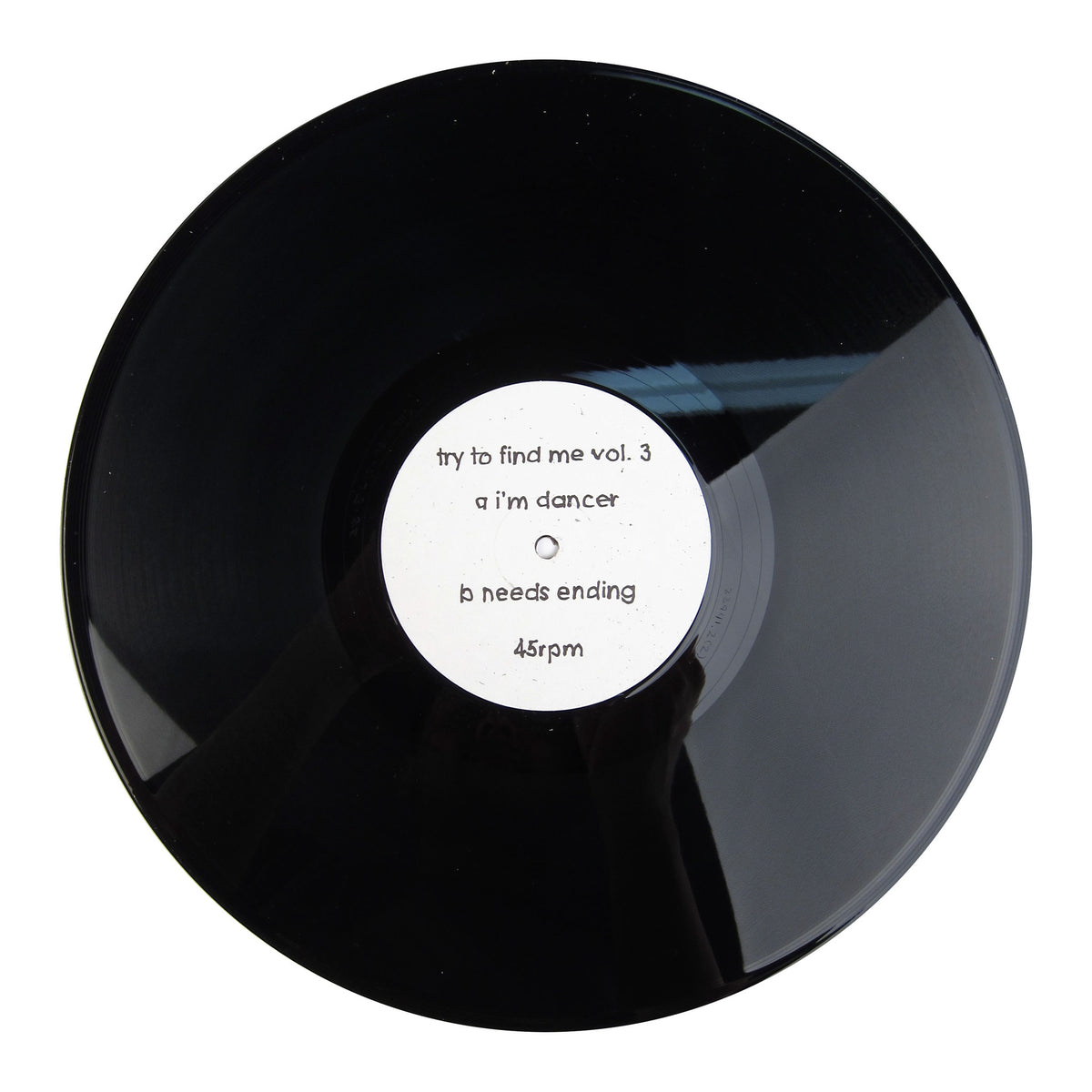 Try To Find Me: Vol.3 (I'm A Dancer) Vinyl 12""