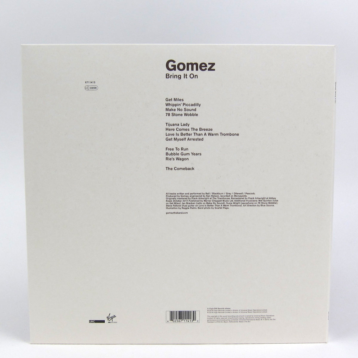 Gomez: Bring It On (180g) Vinyl 2LP