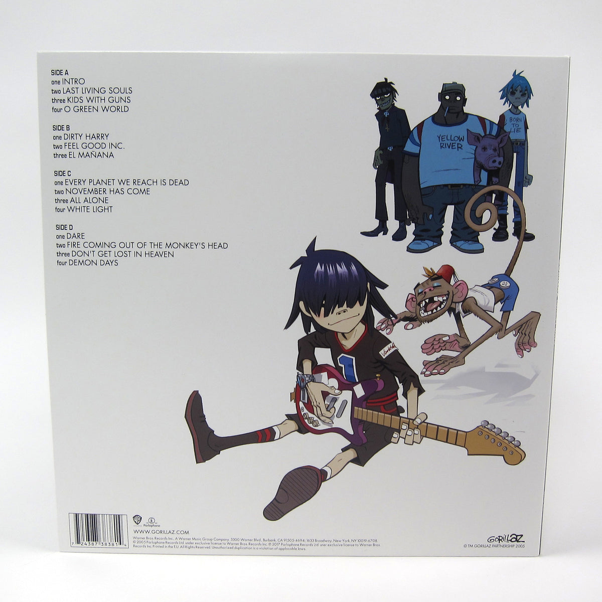 Gorillaz: Demon Days Vinyl 2LP