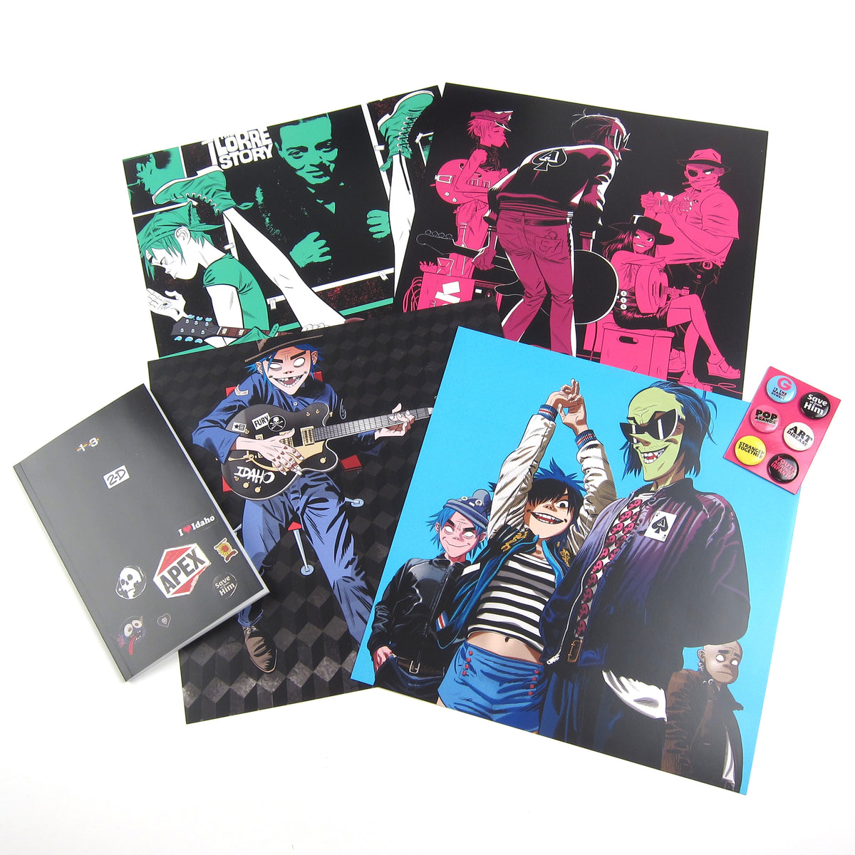 Gorillaz: The Now Now (180g, Colored Vinyl) Vinyl LP Boxset
