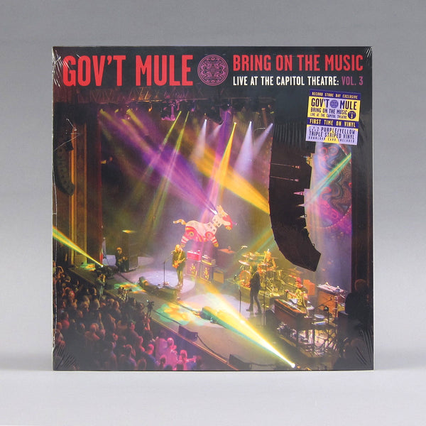 Gov't Mule: Bring On The Music - Live at The Capitol Theatre Vol 3 (180g, Colored Vinyl) Vinyl LP (Record Store Day)