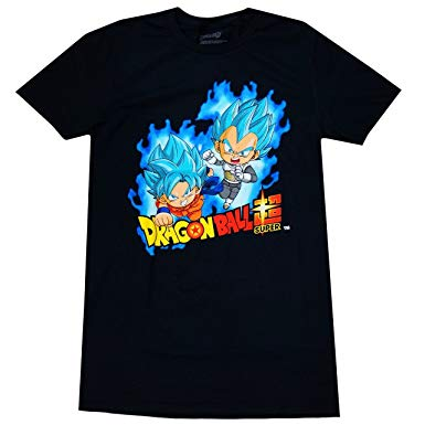 Dragonball Z: SSGS Goku & Vegeta Shirt - Black