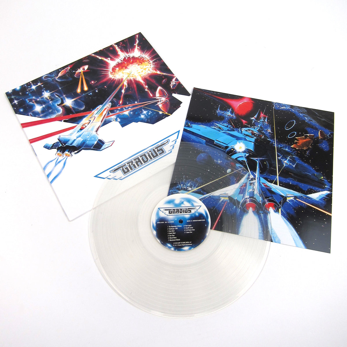 Konami Kukeiha Club: Gradius (Colored Vinyl) Vinyl LP