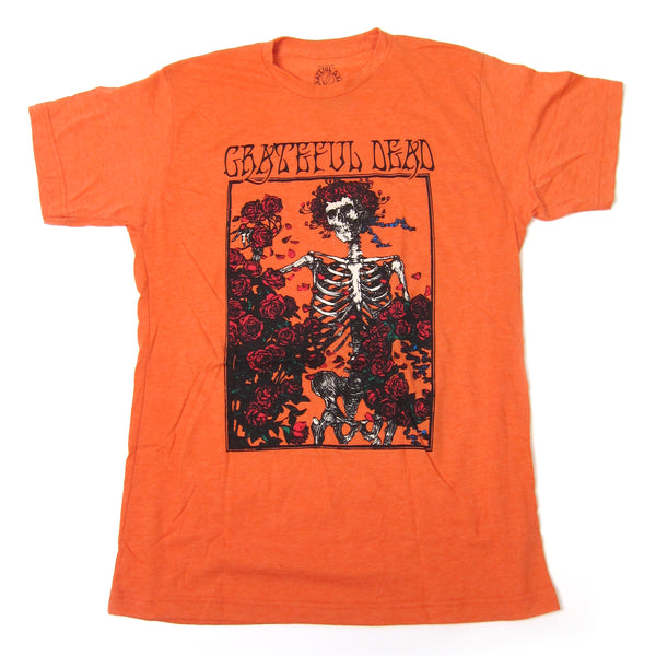 Grateful Dead: Bertha Shirt - Heather Orange