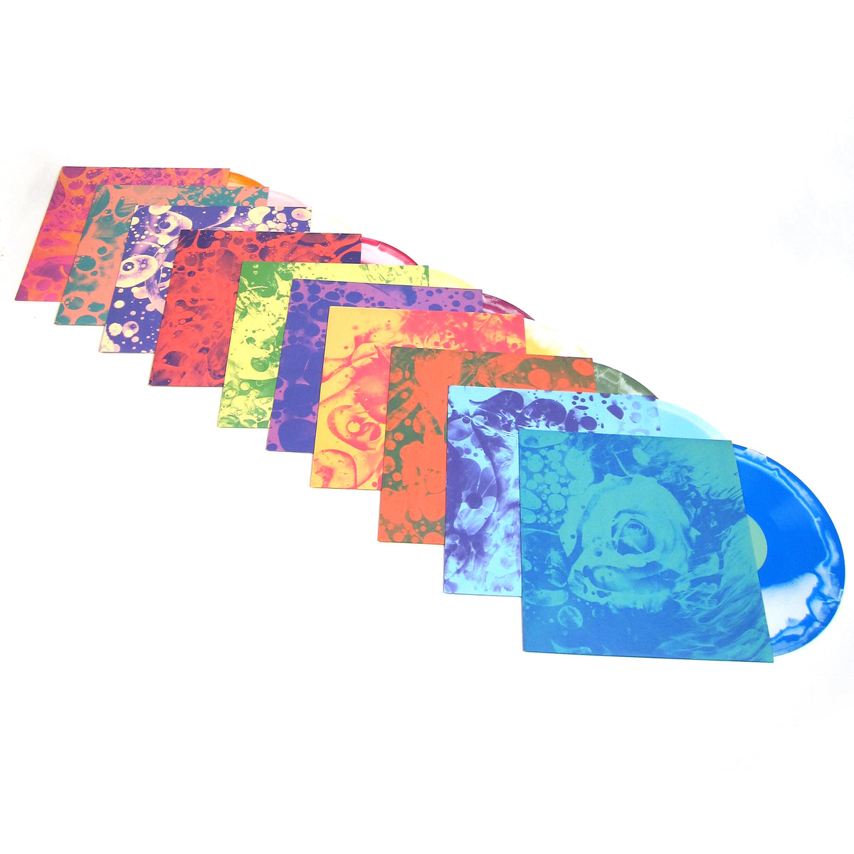 4AD: Day of the Dead - Grateful Dead Tribute (Colored Vinyl) Vinyl 10LP Boxset