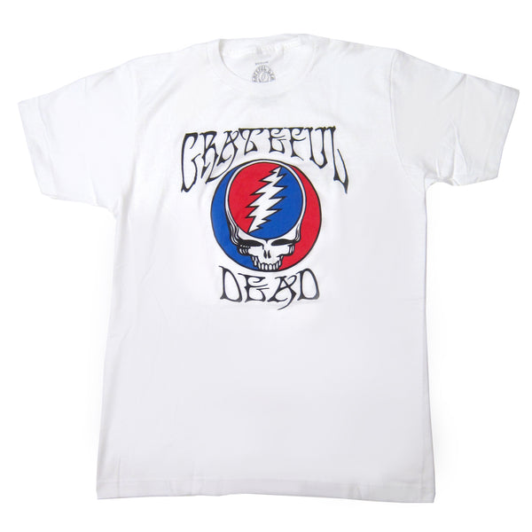 Grateful Dead: Steal Your Face Shirt - White