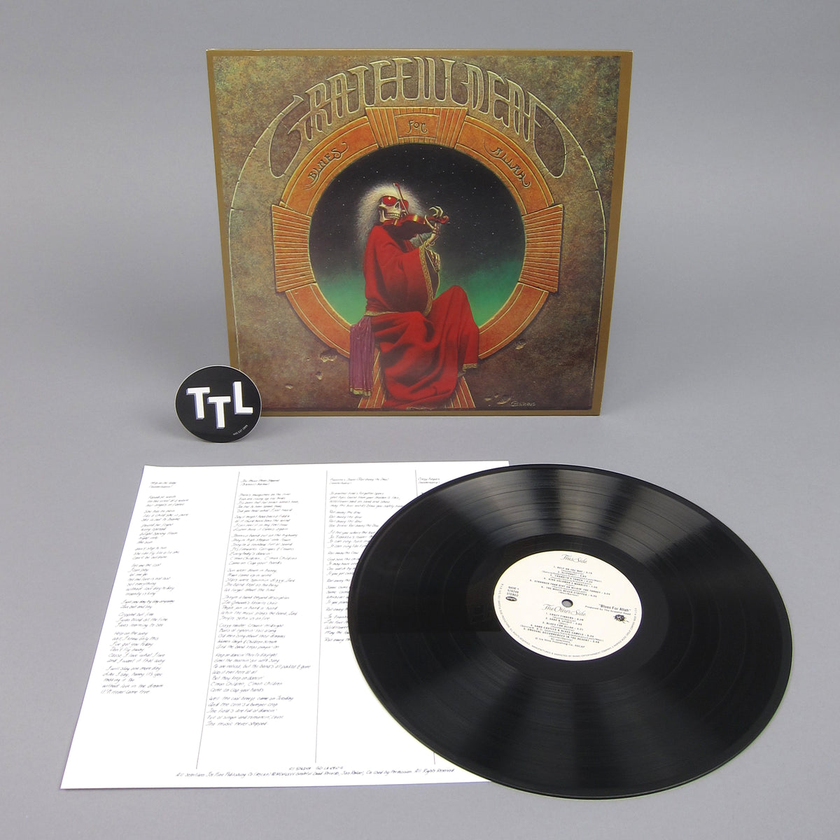 Grateful Dead: Blues For Allah Vinyl LP
