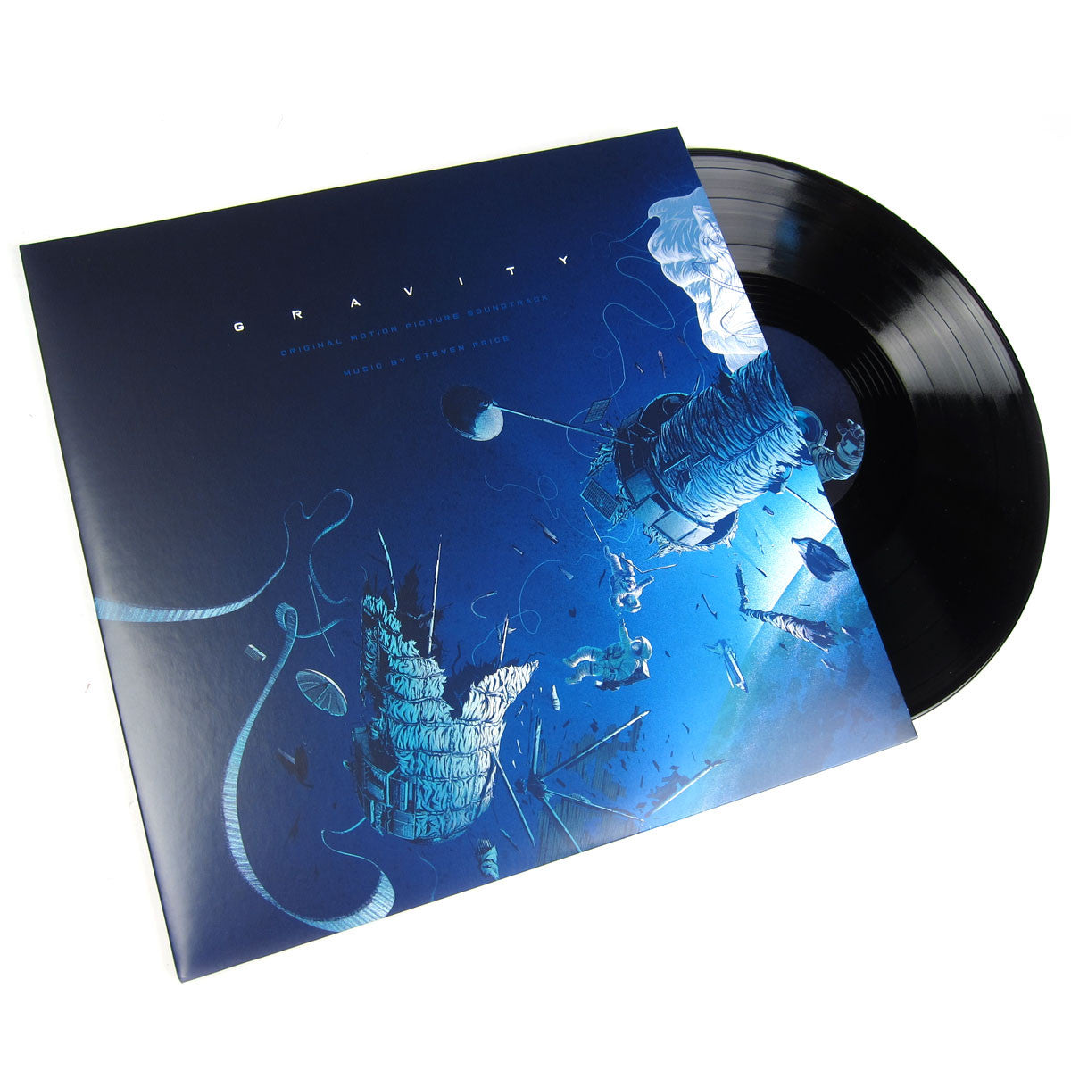 Steven Price: Gravity Original Motion Picture Soundtrack (180g) Vinyl 2LP