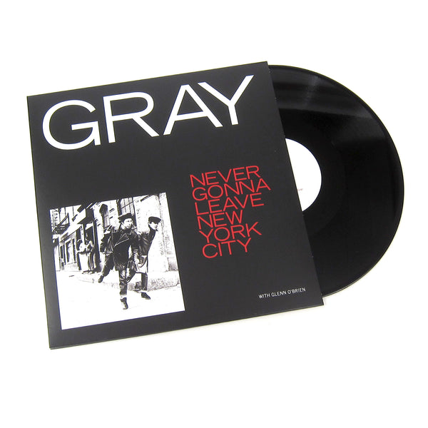 Gray: Never Gonna Leave New York City Vinyl 12""