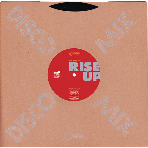Greenwood Rhythm Coalition: Rise Up (Tyrone Evans) 10""