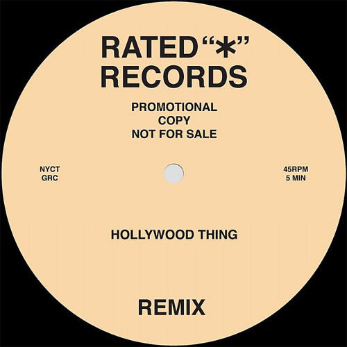 Greenwood Rhythm Coalition / Midnight Lab Band: Hollywood Thing / Time Waits For no Man 12""
