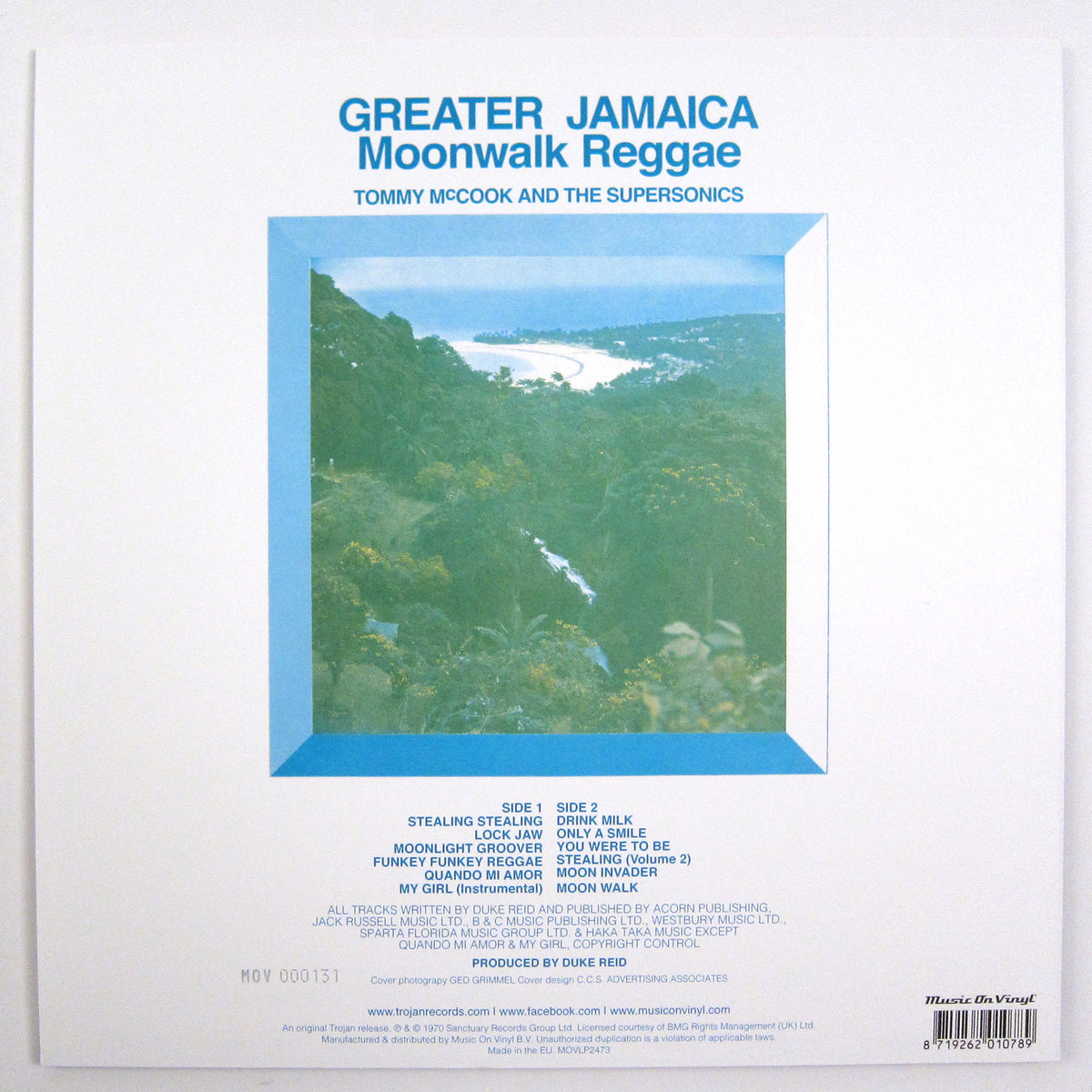 Tommy McCook & The Supersonics: Greater Jamaica Moonwalk